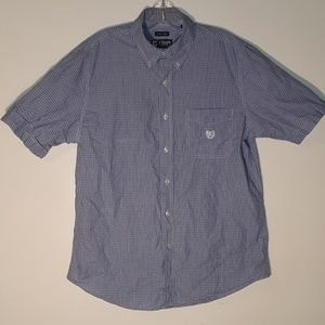 Chaps Shirts - Mens button down collared shirt.